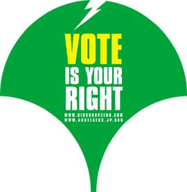 VOTE IS YOUR RIGHT